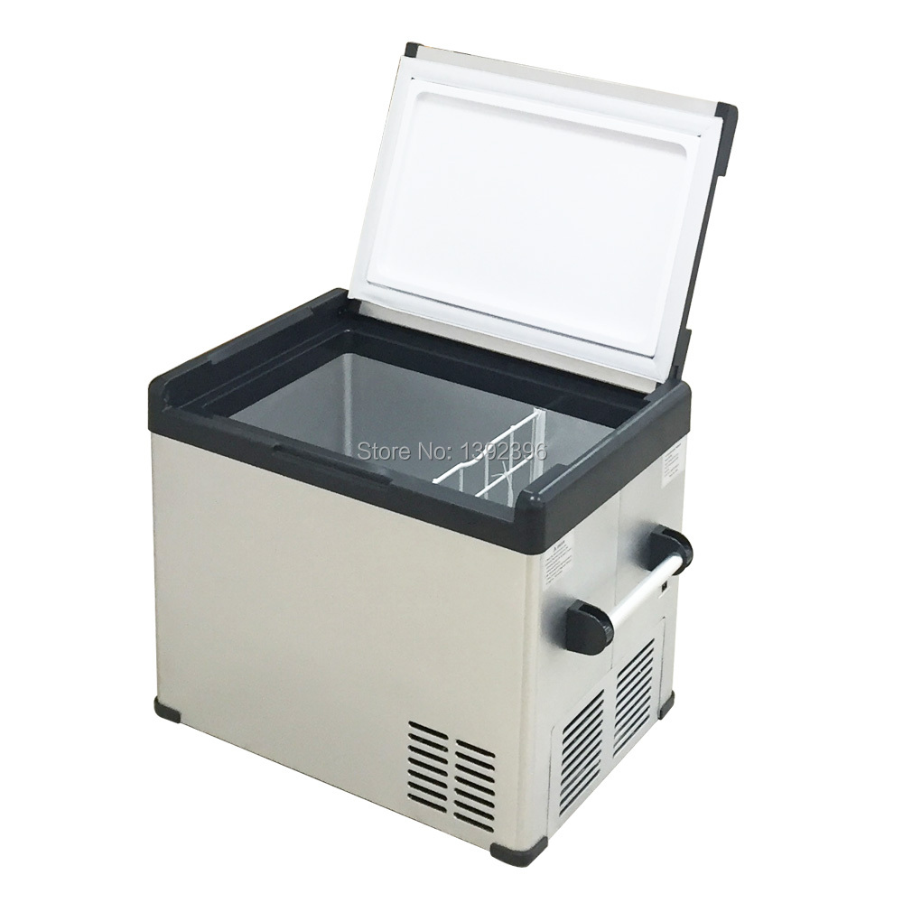 70 Liter Portable Refrigerator Freezer High Quality Compressor Freezer AC DC 12V 24V Fridge Icebox Chamber Insulin