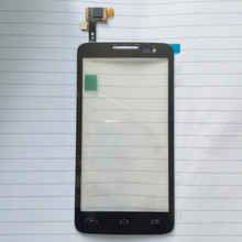 Black ToP Quality Touch Screen Digitizer For Alcatel One Touch X'Pop 5035 OT-5035 OT5035 5035X 5035E Free ship + Tracking code