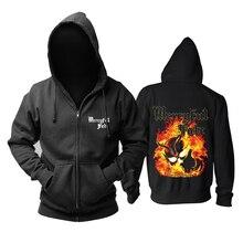 Mercyful Fate Rock hoodies shell jacket brand punk Fire Demon sudadera chandal hombre Outerwear tracksuit Sweatshirt