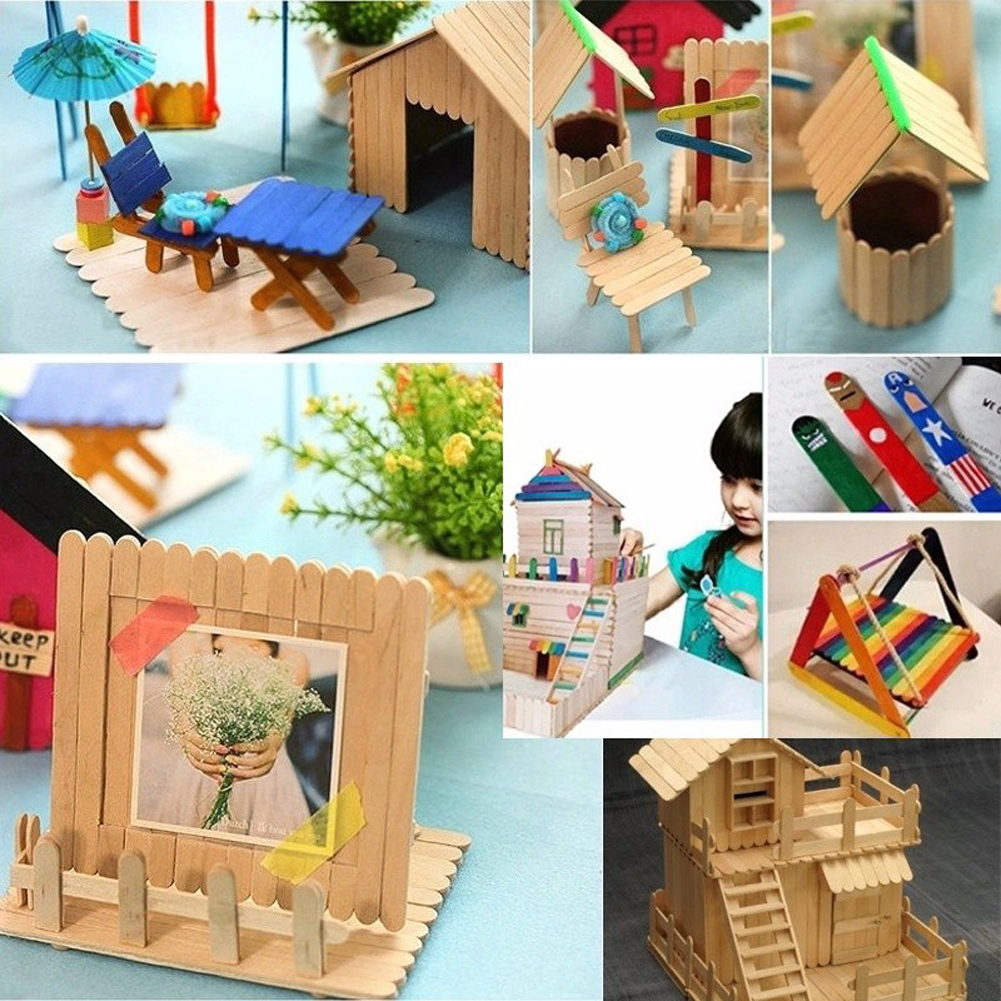 Wooden Kids Popsicle Hand