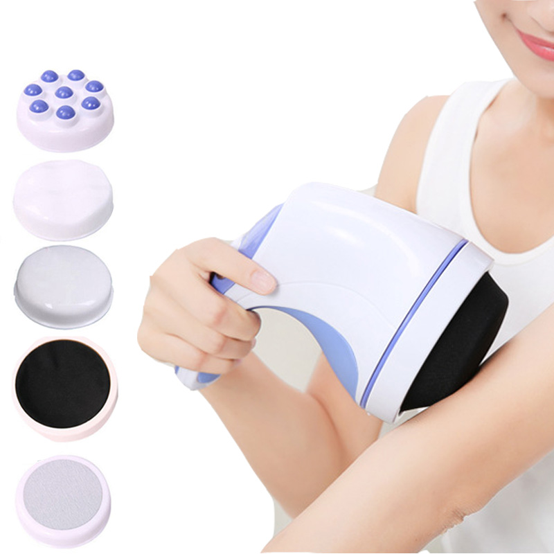 Electric Body Massager Electric Vibrator Full Slimming Relax Spin Tone Massager Women Fat Reducing Machine Health Care Massage