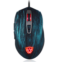 Motospeed V60 Wired Mouse Gaming 5000DPI 6 Buttons RGB Backlit USB LED Optical Mouse PC Gamer Mice for Laptop Computer#30