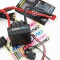 Hobbywing ezrun max8 t plug modelo rc brushless motor 150a esc controlador de velocidade t plugue à prova d' água + cartão de programa