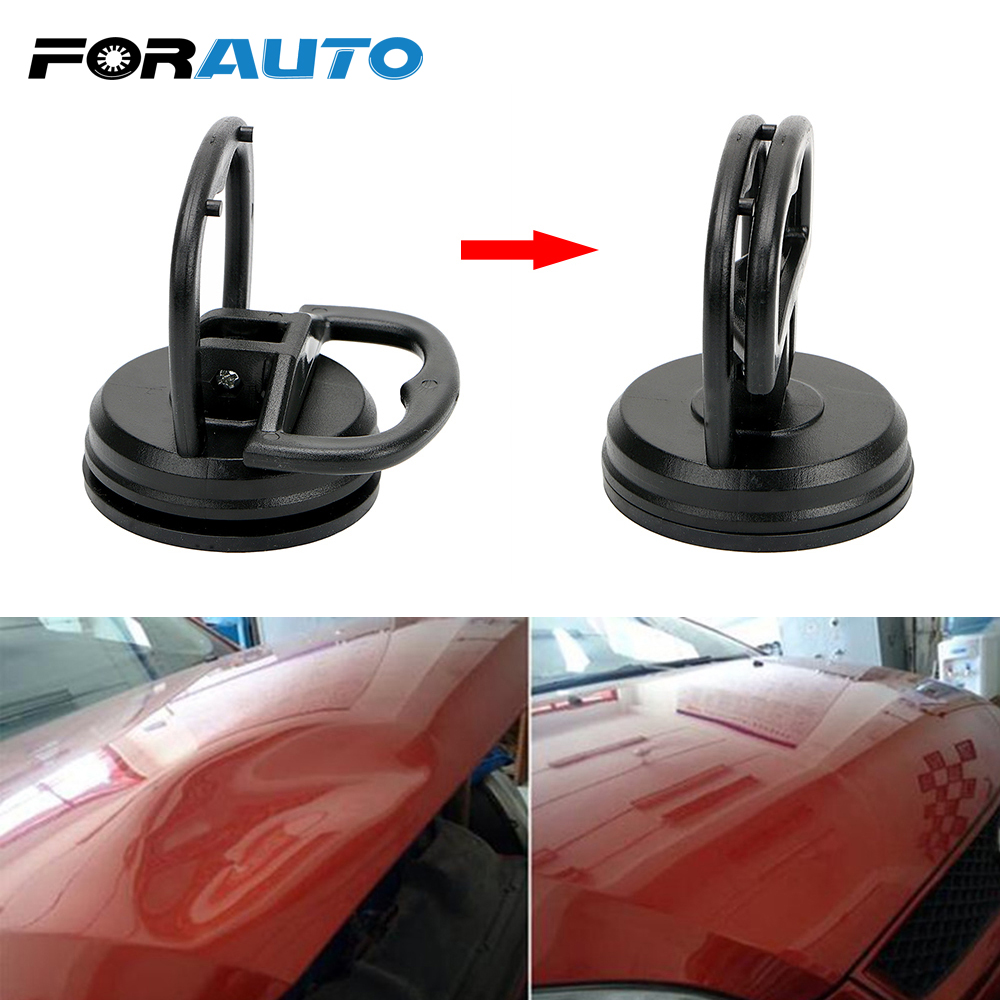 FORAUTO Car Repair Car Dent Remover Puller Auto Body Dent Removal Tools Glass Metal Lifter Useful Mini Strong Suction Cup