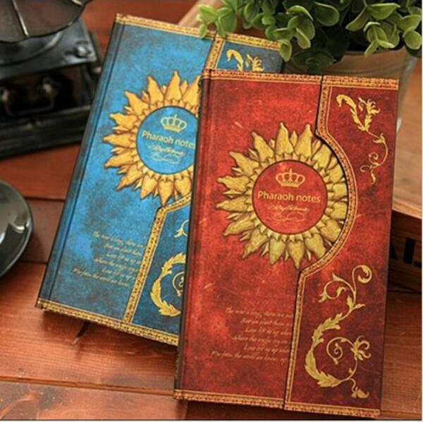 Vintage Mysterious Magic World Magnetic buckle Kraft paper notebook/Papelaria Material escolar/School gift/office supplies GT102 200 sheets 2 boxes 2 sets vintage kraft paper cards notes filofax memo pads office supplies school office stationery papelaria