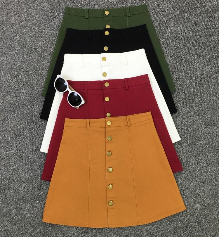 HTB1YTM8MpXXXXaIXFXXq6xXFXXXx - American Apparel button Denim Skirt JKP265