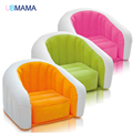 Ocio Muebles de la Sala moderna Asiento De Sofá Inflable cómodo Flocado PVC Tumbona Sofá Asiento