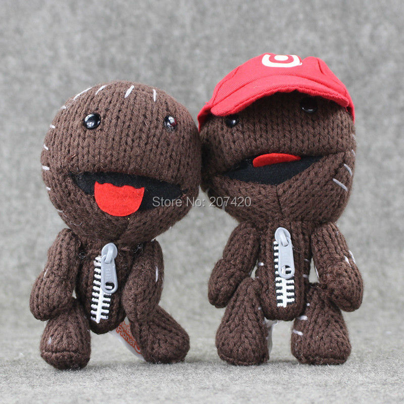 16CM Little Big Planet Plush Toy Sackboy Cuddly Knitted Stuffed Doll Figure Toys Kids Gift 16cm little big planet plush toy sackboy cuddly knitted stuffed doll figure toys kids gift