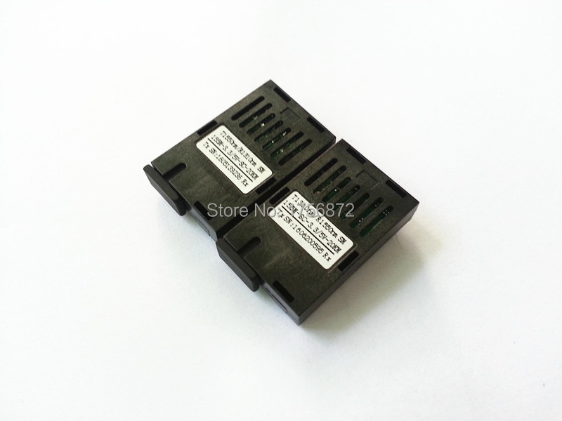 Conector SC 10 / 100M 1x9 BIDI Transceiver optic- BIDI Fibră single 20KM SC 3.3 / 5V 1310TX 1550RX