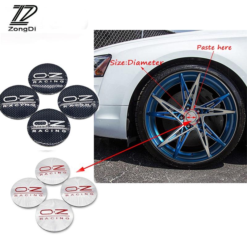 4x Racing SPORT Car Rims Wheel Reflective Sticker Decal PET Graphic Decoration