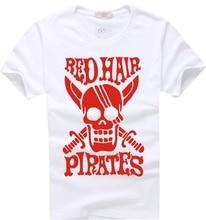 Фотография ONE PIECE Red Hair Pirates T-shirt Animation Comic Fashion Cosplay