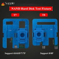 HDD hard disk test stand Repair for iphone6G 6P 6S 6SP 7 7Plus 8 8P NAND Flash Memory CHIP IC Motherboard fixture Tester tool