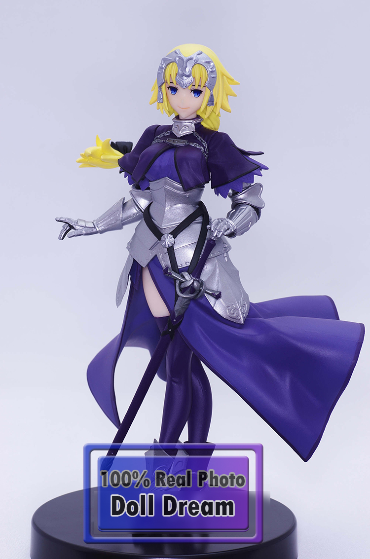 все цены на 1pcs 1/8 Japanese original anime figure Furyu Fate/Grand Order Jeanne d'Arc action figure collectible model toys for boys онлайн