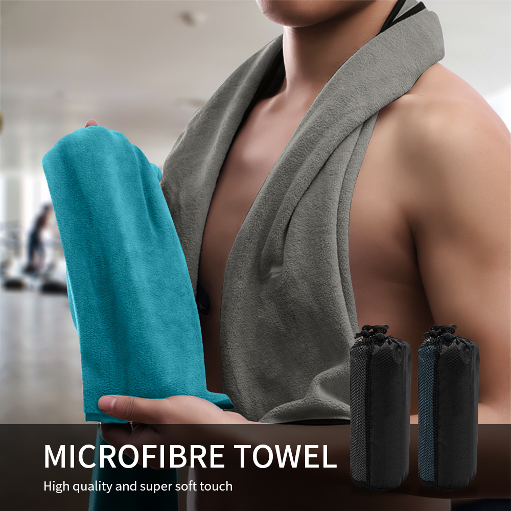 Urijk Microfiber Sport Towel Face Towel Quick-Dry Beach Towels Summer Enduring Instant Chill Towels for Fitness Excerise Yoga(China)