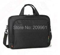 Free Shipping Retail Hot Sale New Black Nylon Laptop Bag Men Laptop Bag 14 15 Inch