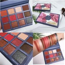 12 Colors Makeup Eyeshadow Palette Smoky Shimmer Matte Glitter EyeShadow Pigment Eye Cosmetics