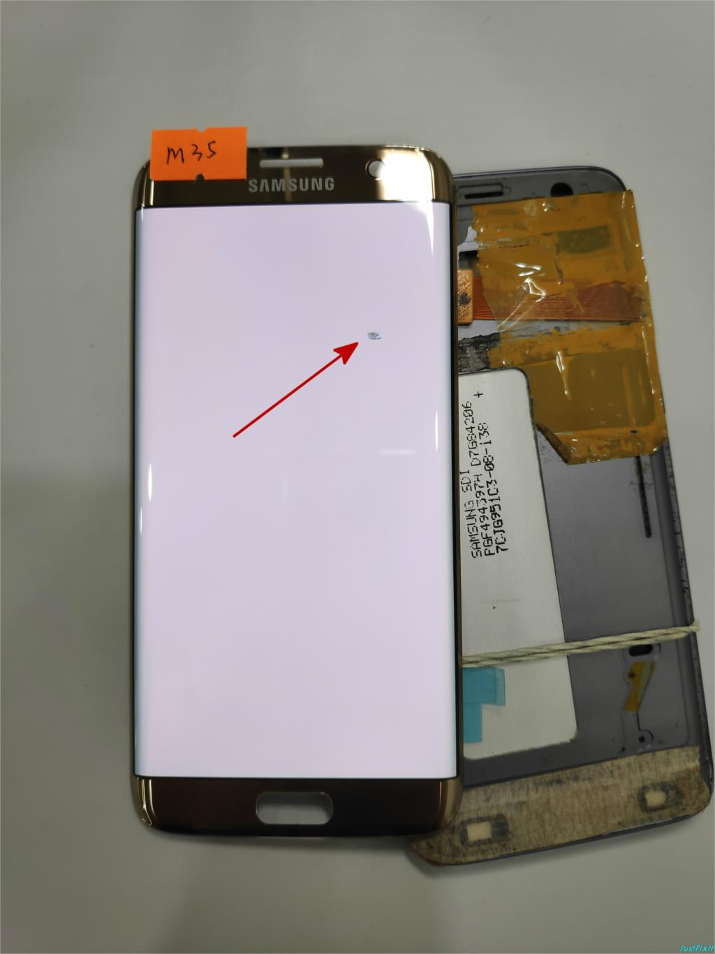 NO M35 for Samsung Galaxy S7 edge G935F G935FD Defect Lcd display touch screen Digitizer 5