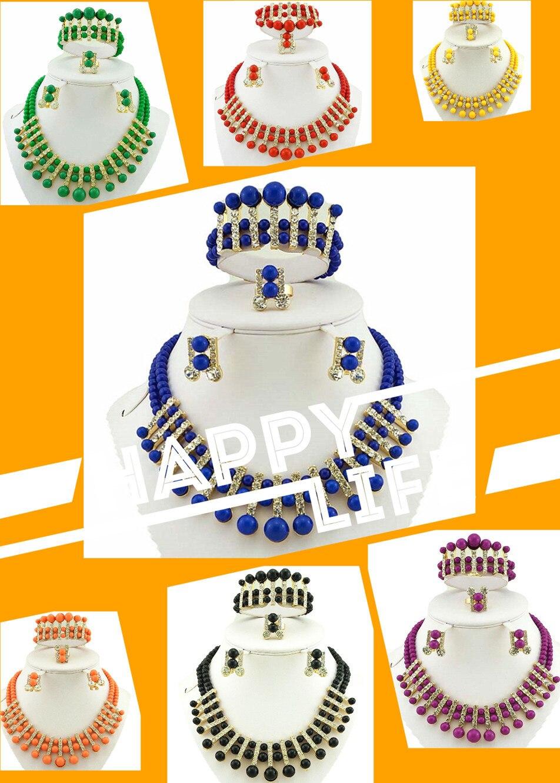 Африканские бусы комплект ювелирных изделий в африканском стиле ожерелье Африканский костюм комплект ювелирных изделий Большие размеры ювелирные изделия