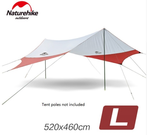 Naturehike Large Camping Tent Awning Beach Playing Games Fishing Hiking Outdoor 5 Person Tent NH16T013-S Include 1 pair of pole Naturehike Large Camping Tent Awning Beach Playing Games Fishing Hiking Outdoor 5 Person Tent NH16T013-S Include 1 pair of pole