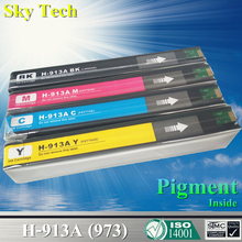 цена на KCMY Pigment Ink Cartridge For  HP913A  HP973 , For HP PageWide 352dw 377dw Pro 452dw 452dn 452dwt 477dw MFP 477dwt 552dw