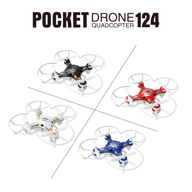SBEGO 124 Mini Tasche Drone Fernbedienung 4CH 6 Achsen Gyro Quadcopter Mit Umschaltbar Controller RTF Hubschrauber Spielzeug Für Kinder