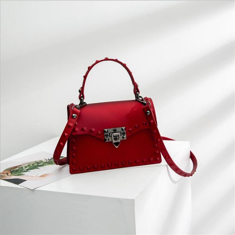 Jelly-Bag Chic Transparent Women Messenger-Bags Shoulder-Crossbody-Bag Fashion Summer