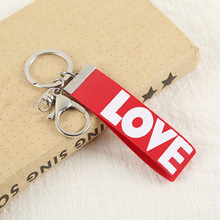 Jewelry Accessories - Fashion Jewelry - Little Boutique Love Strip Key Chain Pendant For Bag Car Keychain Hangbag Backpack Charms Ornament Simple Gift
