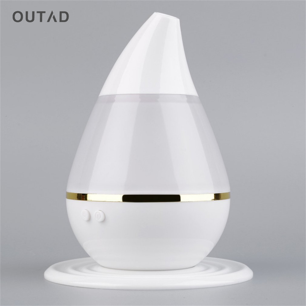 OUTAD Portable Mini Ultrasonic Humidifier USB Air Humidifier Portable Car Aromatherapy Essential Oil Diffuser Mist Maker Fogger