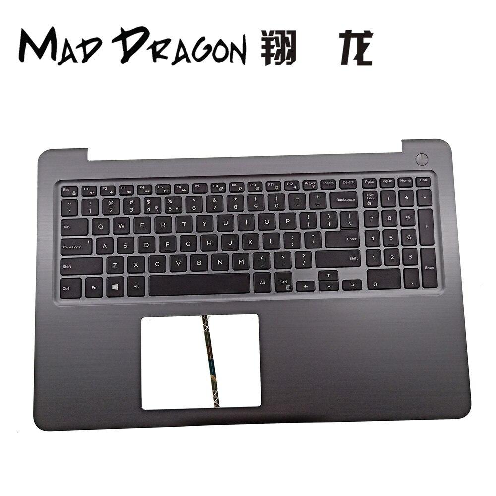 FOU DRAGON Marque Ordinateur Portable nouveau US clavier et repose-poignets Assemblée Pour Dell Inspiron 15 INS15 5565 5567 DPN PT1NY 0PT1NY h9P3P 0H9P3P