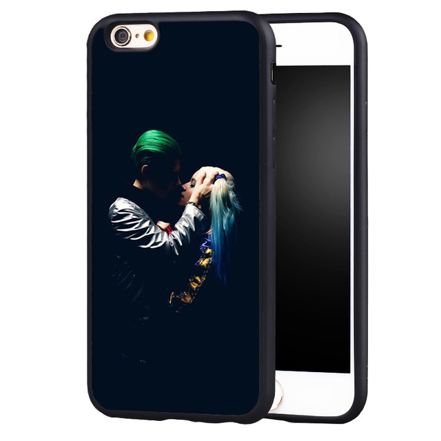 new arrival 1b48b bade5 US $5.51 |Reboto Joker Harley Quinn Case For iphone 5/5s/5se 6/6s 7 6/7 6s  plus TPU+PC Suicide Squad Case Phone Cover-in Fitted Cases from Cellphones  ...