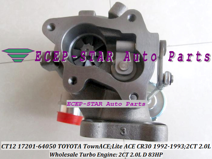 CT12 17201-64050 17201 64050 17201-64040 Turbocompresseur 17201-64020 - Pièces auto - Photo 6