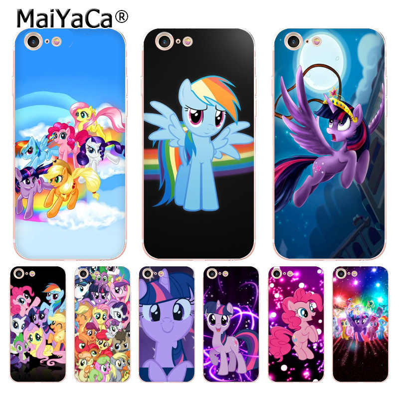 Maiyaca Binful Magic My Little Pony Мягкие tpu чехол для телефона чехол для iPhone 8 7 6 6 S Plus X XS XR 10 5 5S SE 5C случае Coque