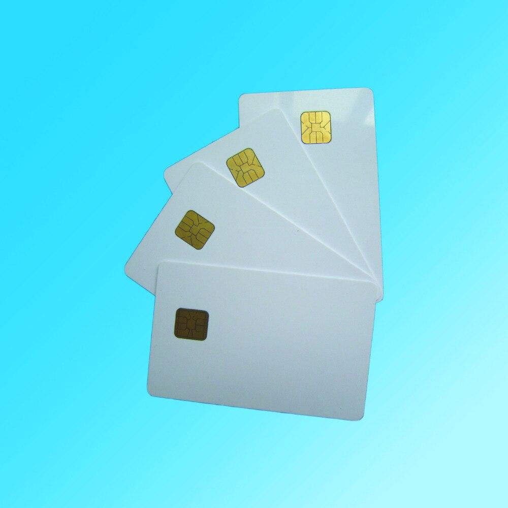 (10 Teile/los) Atmel 24c02 Karte 2 Karat Weiß Kontaktchipkarte Sicherheit Karten