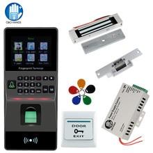 Kit de verrouillage de porte biométrique