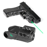 Tactical Laser Sights For Guns Mini Mira Laser Glock Handgun Air Rifle Accessories Smart On/Off Switch Green Lazer Pointer