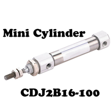 цена на  CDJ2B16*100 SMC Type Air Cylinder CDJ2B series CDJ2B16-100 16*100 16mm Bore 100mm Stroke Pneumatic Mini Cylinders