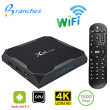 X96 Max TV BOX Android 8.1 Smart Amlogic S905X2 Quad Core 4G