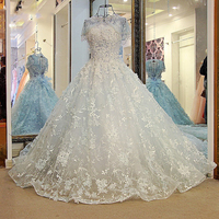 Women Colorful halloween evening dress lace sexy backless beaded tulle ball gown long prom formal dress pink and light blue