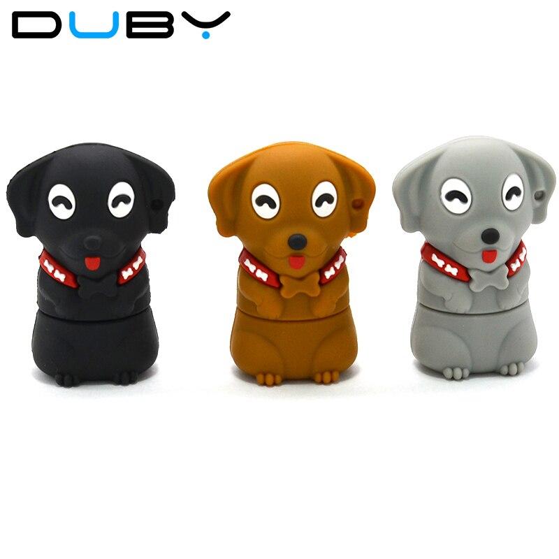 2018 usb flash drive fashion cartoon dog pendrive thumb u. Black Bedroom Furniture Sets. Home Design Ideas