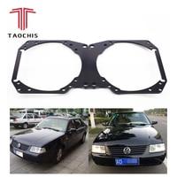 Taochis Car Styling frame adapter module DIY Bracket Holder for VW Volkswagen Santana Vista 3000 Hella 3 5 Q5 Projector lens