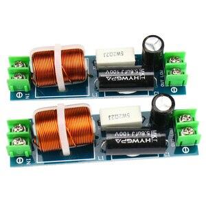Image 4 - GHXAMP 60 120 w Auto di Fascia Media di Crossover Altoparlante 1 Modo Mediant Metà Divisore di Frequenza Per 2 6.5 pollice altoparlante Filtro 2 pz