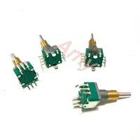 2pcs Lot Free Shipping EC11E0B2LB01 Dual Axis Dual Encoder With Switch 30 Posioning 15 Pulse