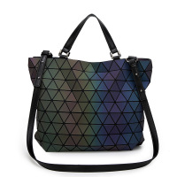 Geometric Baobao Women S Handbag Big European Style Luminous Lingge Bao Bao Women Bag Brand Design