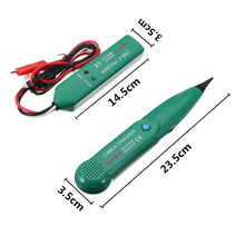 цена на 1set Telephone Tracer Network MS6812 LAN Cable Tester Tracker Kit Electric Wire Find Network Tester
