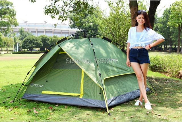 Quick Automatic Opening Outdoor Tent C&ing Equipment 3-4 Double Bunk Rainproof Free Open Tent  sc 1 st  AliExpress.com & Quick Automatic Opening Outdoor Tent Camping Equipment 3 4 Double ...