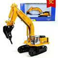 KAIDIWEI 1:87 Scale Tracked Broken Car Model Diecast Metal Construction Vehicles Truck Toys For Kids Boys