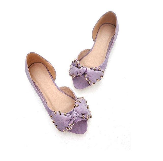 2013 new style fashion woman flat mouth shoes