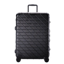 Scratch-Resistant Wire drawing Luggage, Aluminum Frame Hard Case Luggage, PC Universal Wheels Trolley Luggage Bag Boarding Case