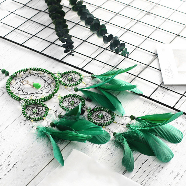 Handmade Green Dream Catcher