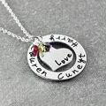 Nombre Collar personalizado de La Familia, personalizado Collar de Familia, la abuela Mamá Collar, Regalo del Día de madre, nombre Collar